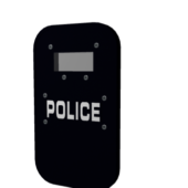 Riot Shield Police Weapon