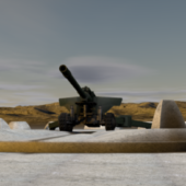 Russian Howitzer Canon