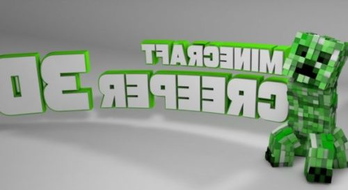 Minecraft Creeper Rigged