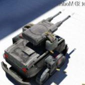 Gun Machine Robot