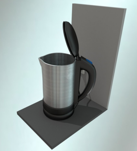 Water Boiler Free 3D Model (3ds, Blend, Dae, Fbx, Mtl, Obj) - Download