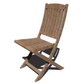 Asian Wooden Chair
