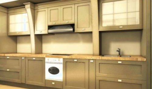 Cabinet Set Of Kitchen