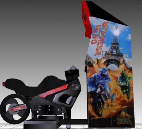 Road Burners Sitdown Arcade Machine