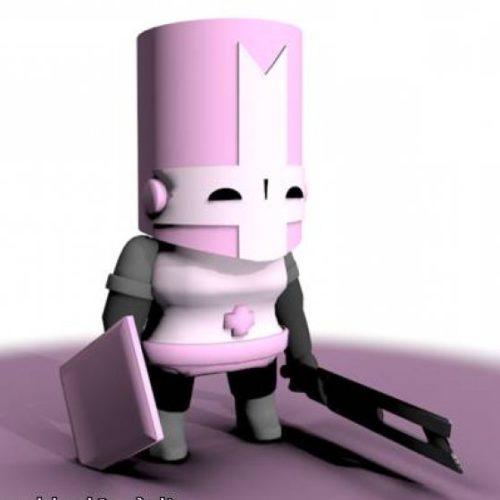 Castle Crashers Pink Knight
