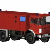 Firetruck German Presence Benz