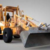 Rigged Excavator