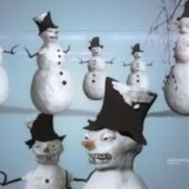 Snowman Creepy