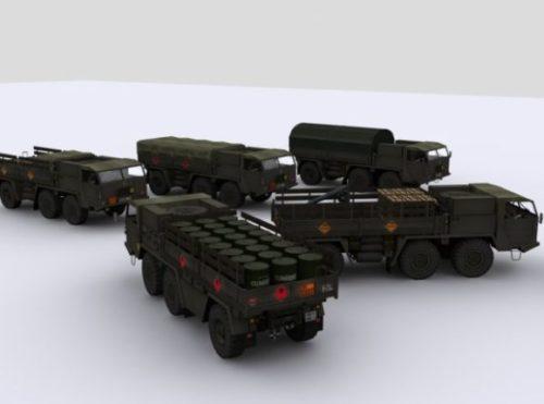 Faun German Army Truck