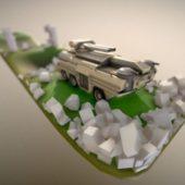 Amphibious Tank (new Rig)