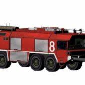 Fire Truck German Presence Faun Flkfz3500