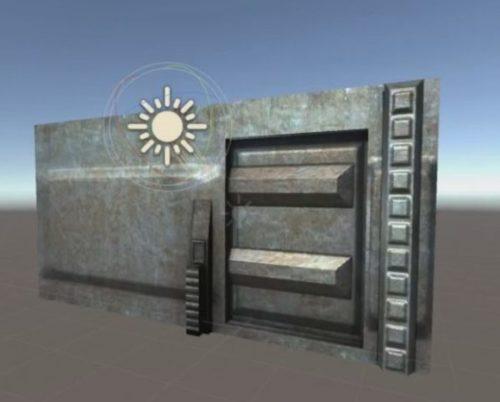 Sci-fi Door 3 Animated