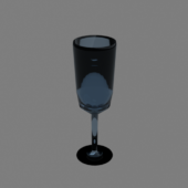Glassy Lowpoly Cup