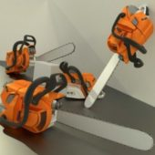 Chainsaw High Poly Version