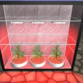 Grow Box (with Light & Plant) V1.1