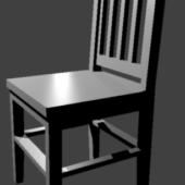 Simple Low-poly Chair