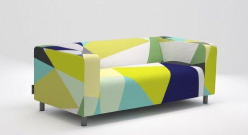 Ikea Klippan Sofa With Artefly Covers