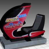 Turbo Outrun Sitdown Arcade Machine