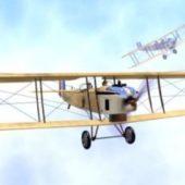 French Wwi Plane Dorand Ar1