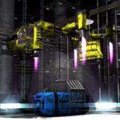 Vega Strike S265-c2 Flying Crane – Rigged