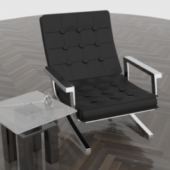 Chair And Table (highpoly)
