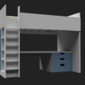 Bunk With Bed