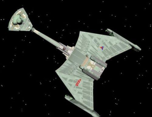 Ktinga Class Klingon Spaceship
