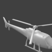 Low Poly Helicopter