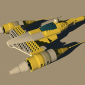 Lego Naboo Ship