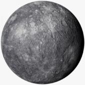 Mercury Photorealistic 1k