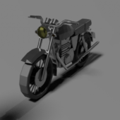 Simple Motorcycle