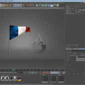 Ac Creed Unity Logo & France Flag