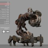 Mech Neck Walker – Blender Game Engine And Unity