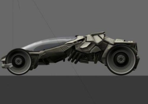 Futuristic Car Game
