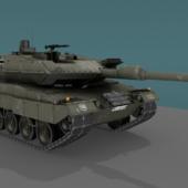 Tank Leopard 2a6 Mbt