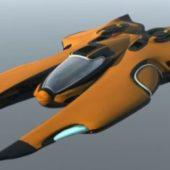 Wraith Raider Starship