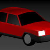 Basic Low-poly Car