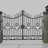 Driveway Gate Old