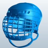 Ice Hockey Helmet With Mask V1