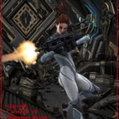 Kerrigan V3 Starcraft For Daz And Poser Pro