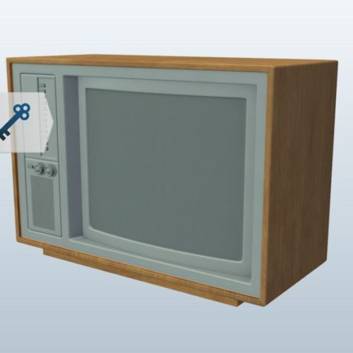 Old Tv 1980s
