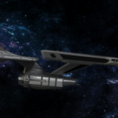 Ncc 1701-a Uss Enterprice