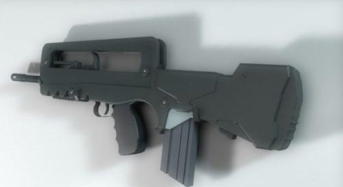 Famas Gun Rifle