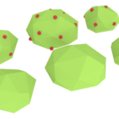 Low Poly Bushes