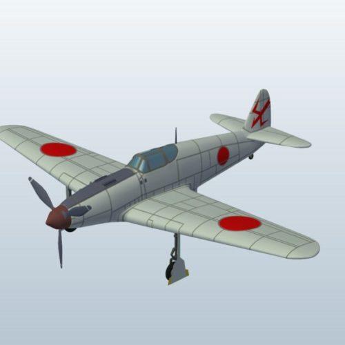 Wwii Plane Japan Kawasaki Ki61 V1