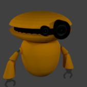 Roboto Character