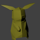 Pikachu Low Poly