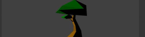 Cartoon Lowpoly Tree