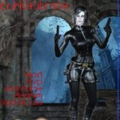Underworld Selenne For Victoria3 Daz Poser Pro