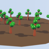 Forest Low Poly